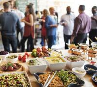 Plateau repas pour 20 personnes à Paris